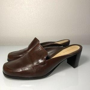 Vintage Leather Antonio Melani Heels Size 8
